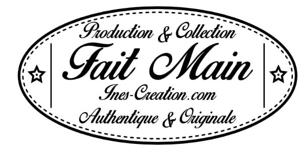 Inès Création accessoire textile lingette lavable artisanal